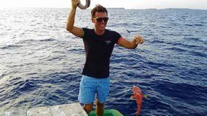 モルディブオプショナルツアー 魚釣りフィッシング